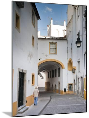 Old Town of Evora, Alentejo, Portugal-Michele Falzone-Mounted Photographic Print