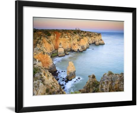 Ponta Da Piedade, Lagos, Algarve, Portugal-Michele Falzone-Framed Art Print