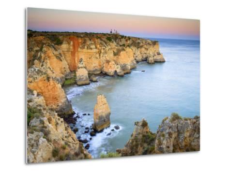 Ponta Da Piedade, Lagos, Algarve, Portugal-Michele Falzone-Metal Print
