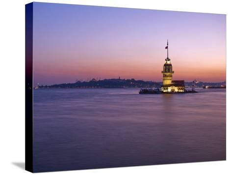 Kizkulesi, Istanbul, Turkey-Michele Falzone-Stretched Canvas Print