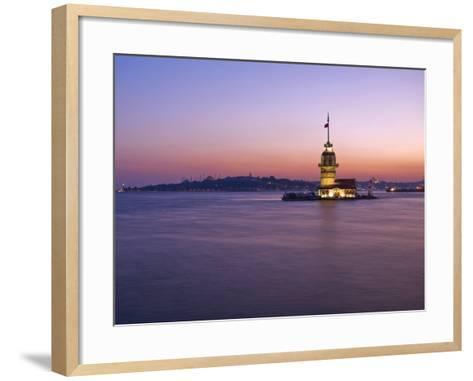 Kizkulesi, Istanbul, Turkey-Michele Falzone-Framed Art Print