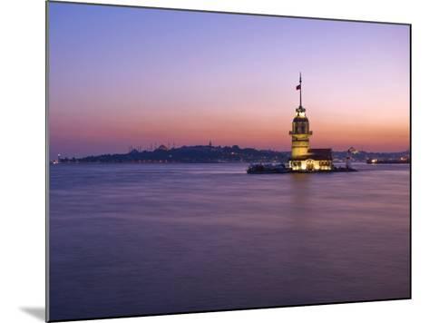 Kizkulesi, Istanbul, Turkey-Michele Falzone-Mounted Photographic Print