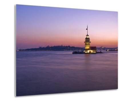 Kizkulesi, Istanbul, Turkey-Michele Falzone-Metal Print