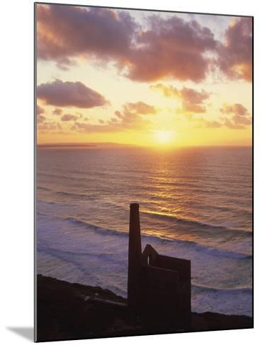 Wheal Coates Mine, St.Agnes, Cornwall, England-Steve Vidler-Mounted Photographic Print