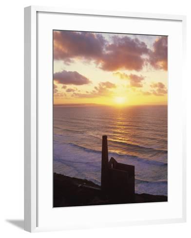 Wheal Coates Mine, St.Agnes, Cornwall, England-Steve Vidler-Framed Art Print