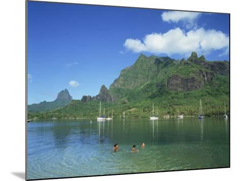 Cooks Bay, Moorea Island, Tahiti, French Polynesia-Steve Vidler-Mounted Photographic Print