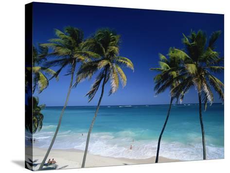 Bottom Bay, Barbados, Caribbean-Steve Vidler-Stretched Canvas Print
