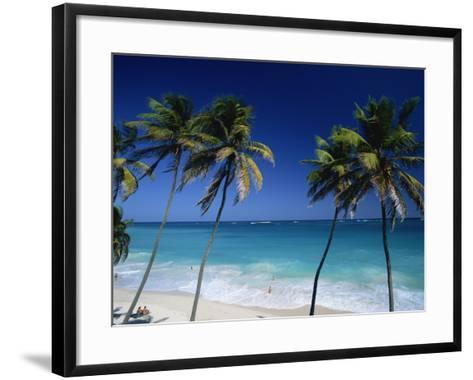 Bottom Bay, Barbados, Caribbean-Steve Vidler-Framed Art Print