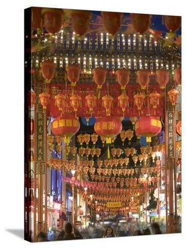 Chinese New Year, China Town, London, England-Doug Pearson-Stretched Canvas Print