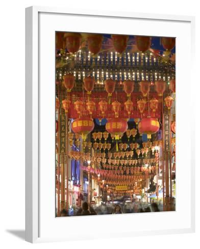 Chinese New Year, China Town, London, England-Doug Pearson-Framed Art Print