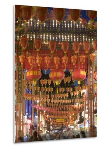 Chinese New Year, China Town, London, England-Doug Pearson-Metal Print