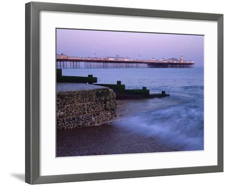 Palace Pier, Brighton, East Sussex, England, UK-Jon Arnold-Framed Art Print