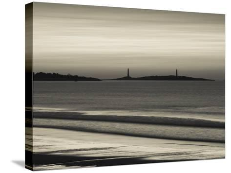 Thatcher Island, Rockport, Cape Ann, Massachusetts, USA-Walter Bibikow-Stretched Canvas Print