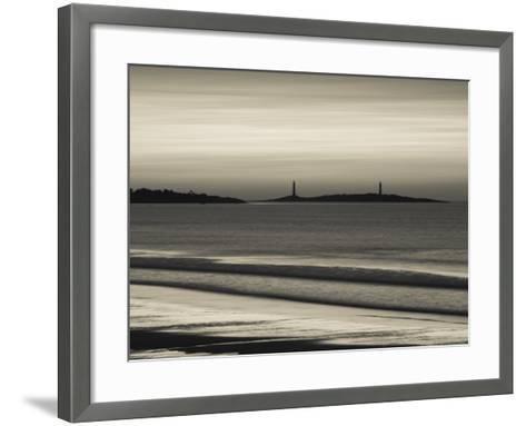Thatcher Island, Rockport, Cape Ann, Massachusetts, USA-Walter Bibikow-Framed Art Print