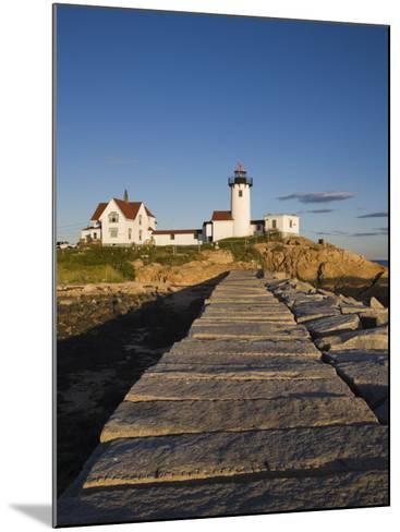 Eastern Point Lighthouse, Gloucester, Cape Ann, Massachusetts, USA-Walter Bibikow-Mounted Photographic Print
