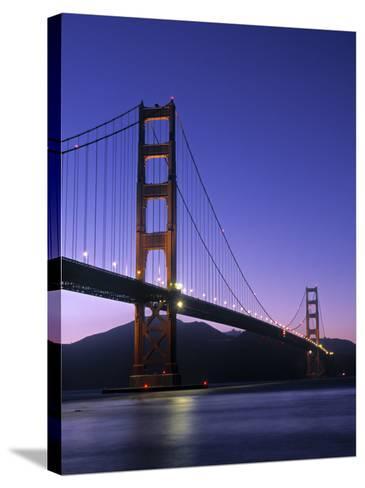 Golden Gate Bridge, San Francisco, USA-Neil Farrin-Stretched Canvas Print