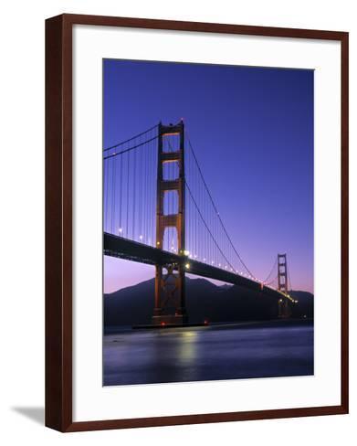Golden Gate Bridge, San Francisco, USA-Neil Farrin-Framed Art Print