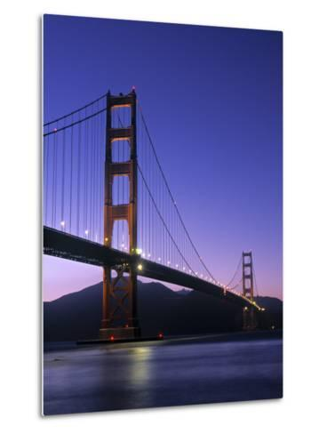 Golden Gate Bridge, San Francisco, USA-Neil Farrin-Metal Print