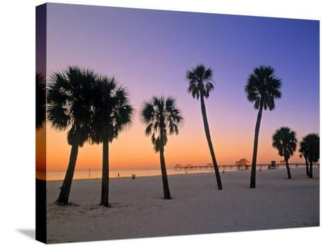 Clearwater Beach, Florida, USA-John Coletti-Stretched Canvas Print
