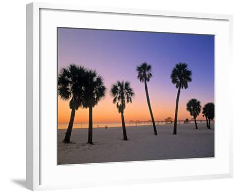 Clearwater Beach, Florida, USA-John Coletti-Framed Art Print