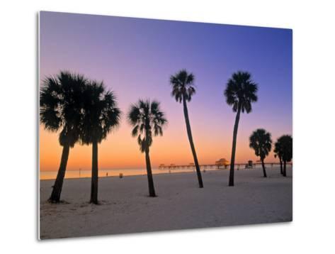 Clearwater Beach, Florida, USA-John Coletti-Metal Print