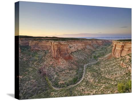 Ute Canyon, Colorado National Monument, Great Junction, Colorado, USA-Michele Falzone-Stretched Canvas Print