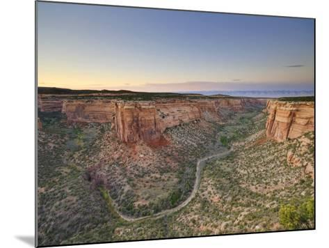 Ute Canyon, Colorado National Monument, Great Junction, Colorado, USA-Michele Falzone-Mounted Photographic Print