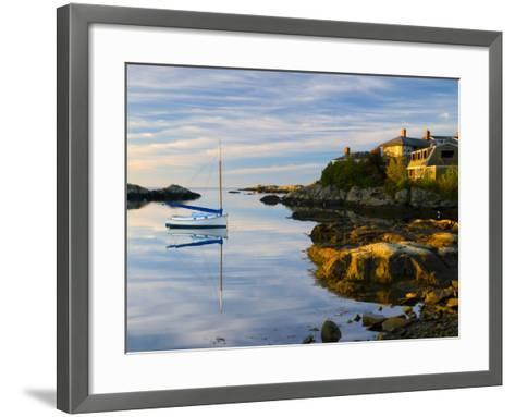 Newport, Rhode Island, USA-Alan Copson-Framed Art Print