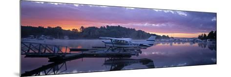 Naples Marina, Sebago Lake, Maine, USA-Walter Bibikow-Mounted Photographic Print