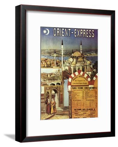 Orient-Express--Framed Art Print