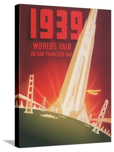 1939 World's Fair on San Francisco Bay- Shawel, Nyeland & Seavy-Stretched Canvas Print