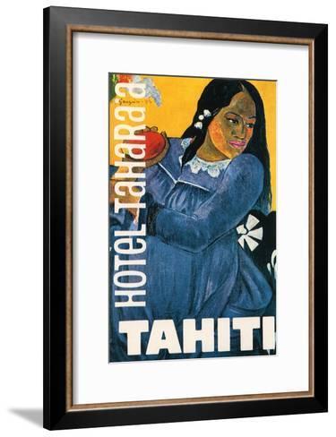 Hotel Tahara'a, Tahiti, c.1892-Paul Gauguin-Framed Art Print