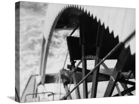 Paddle Wheel of S.S. Athabasca River-Margaret Bourke-White-Stretched Canvas Print