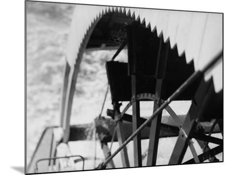 Paddle Wheel of S.S. Athabasca River-Margaret Bourke-White-Mounted Photographic Print