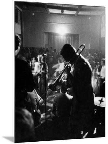 Student Night Club-Mark Kauffman-Mounted Photographic Print
