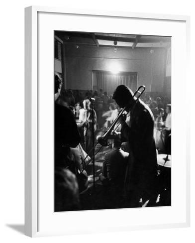 Student Night Club-Mark Kauffman-Framed Art Print