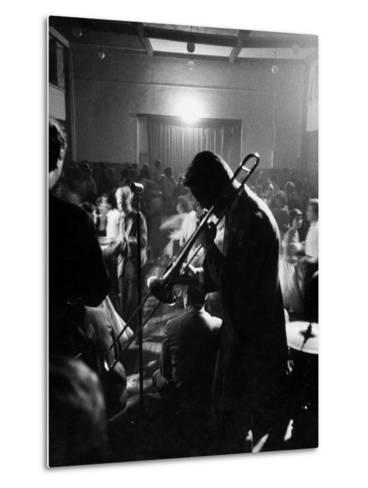 Student Night Club-Mark Kauffman-Metal Print