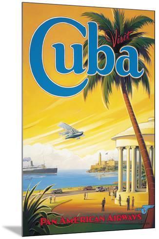 Visit Cuba-Kerne Erickson-Mounted Giclee Print