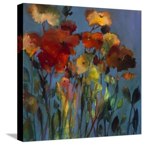 Blue Flower-Michelle Abrams-Stretched Canvas Print