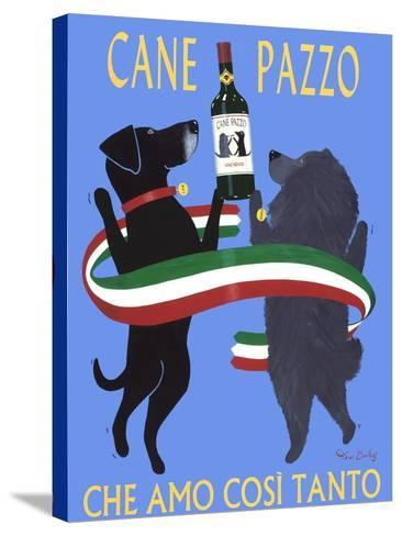 Cane Pazzo-Ken Bailey-Stretched Canvas Print