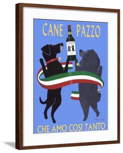 Cane Pazzo-Ken Bailey-Framed Art Print