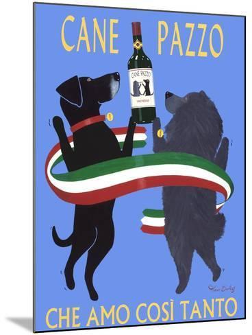 Cane Pazzo-Ken Bailey-Mounted Premium Giclee Print