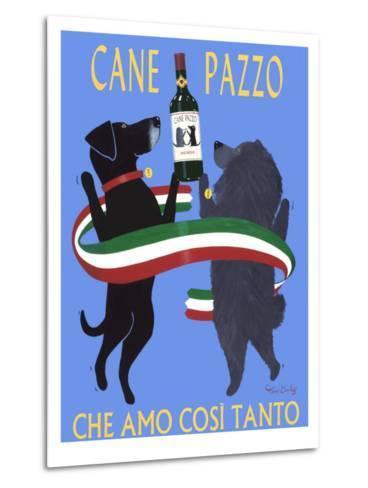 Cane Pazzo-Ken Bailey-Metal Print