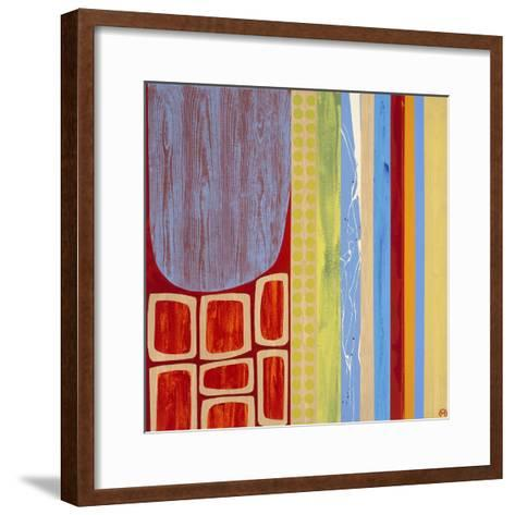 New Optics III-Mary Calkins-Framed Art Print