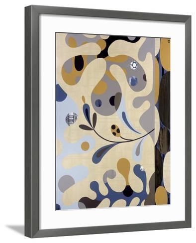 Land Meets Sea-Mary Calkins-Framed Art Print