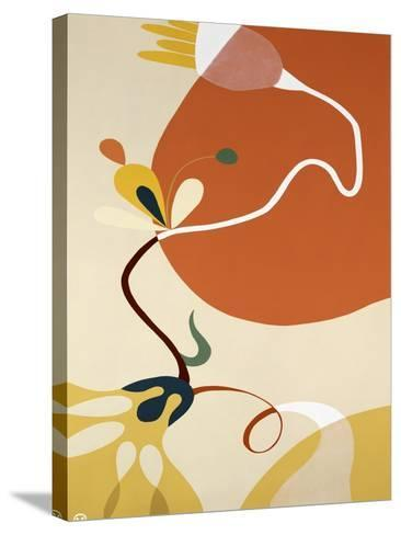 Spring Fever II-Mary Calkins-Stretched Canvas Print