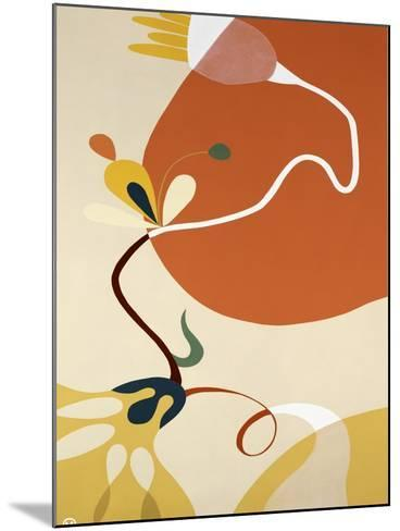 Spring Fever II-Mary Calkins-Mounted Premium Giclee Print