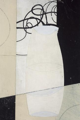 Sodo Vase I-J^b^ Hall-Stretched Canvas Print