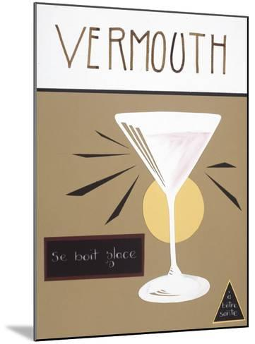 Vermouth-Sharyn Sowell-Mounted Premium Giclee Print