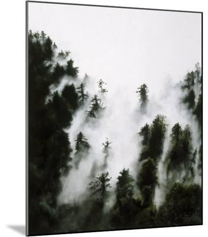 Fog and Redwoods-Jill Tishman-Mounted Premium Giclee Print